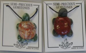 Missing image <10442.jpg> Group: 442 - GEMSTONE TURTLE NECKLACE