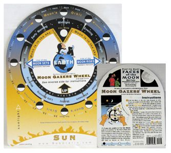Missing image <106505w.jpg> Group: 6505 - MOON GAZER'S WHEEL<BR> An easy guide to moon gazing.  6.5x8