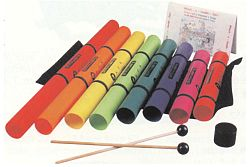 Missing image <123516w.jpg> Group: 3516 - BOOMWHACKERS PACK. Play Boomwhackers like a xylophone!