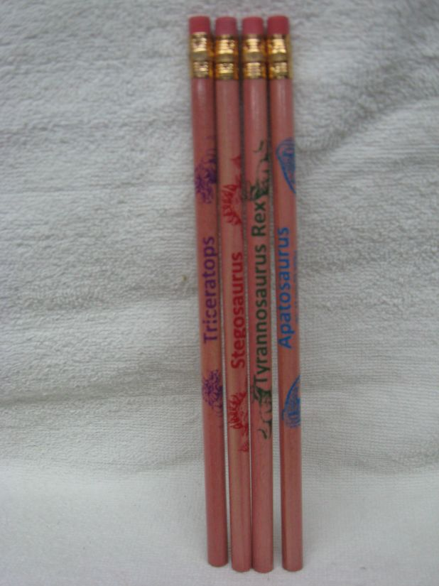Missing image <15151dinopencilpack2w.jpg> Group: 151 - DINO PENCIL. Now with 4 pencils!