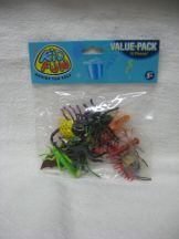 Missing image &lt;15172w.jpg&gt; Group: 172 - PLASTIC INSECTS<BR>1.75-2.5 inches Assorted