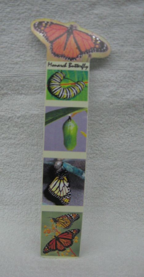 Missing image <15398butterflybookw.jpg> Group: 398 - BUTTERFLY BOOKMARK