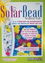 Missing image &lt;155685solar_beadw.jpg&gt; Group: 5685 - SOLAR BEAD FUN<BR>Color Changing Bracelet