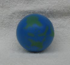 Missing image &lt;156207earthsqueezeballw.jpg&gt; Group: 6207 - EARTH SQUEEZE BALL  <br>2 inch diameter<br>