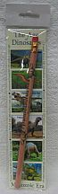 Missing image <17176dinobookmarkw.jpg> Group: 176 - Dinosaur Pencil with Bookmark