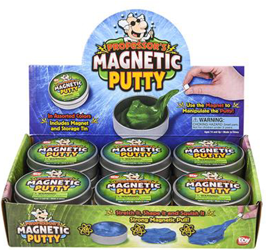 Missing image &lt;185712 magnetic puttty.jpg&gt; Group: 5712 - MAGNETIC PUTTY<br>Use the enclosed magnet <br>to manipulate the putty!