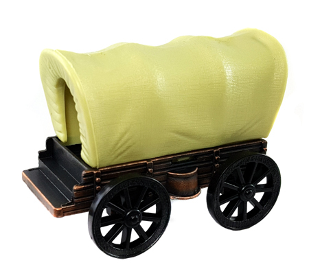 Missing image <6106Wagon.jpg> Group: 6106 - COVERED WAGON Die Cast Metal Pencil Sharpener