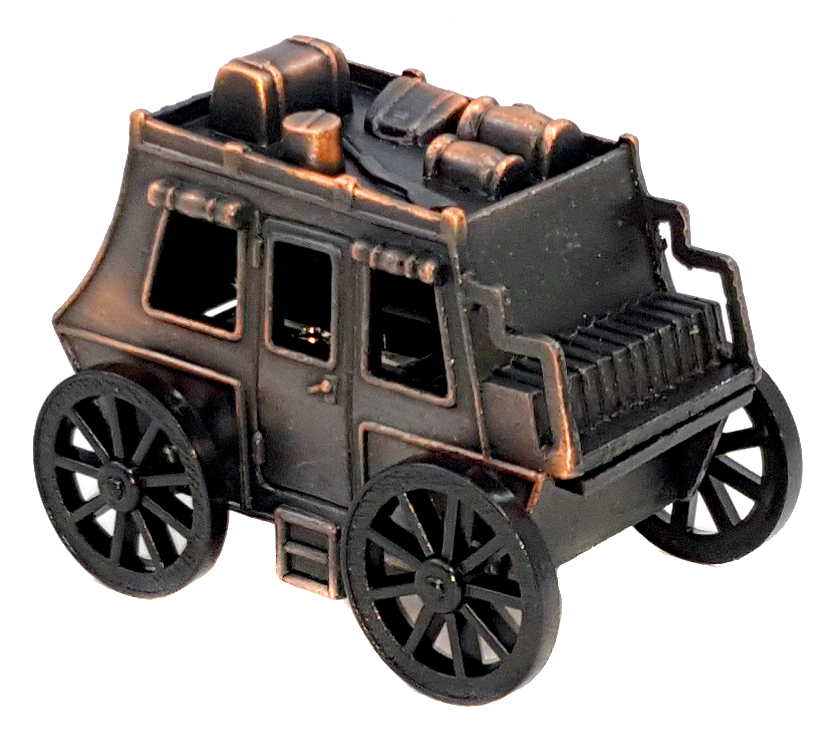 Missing image <6107Stagecoach.jpg> Group: 6107 - STAGECOACH Die Cast Metal Pencil Sharpener