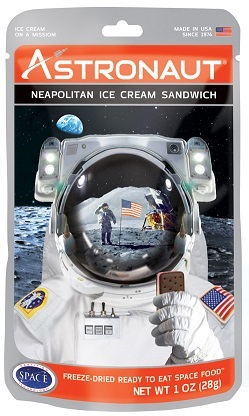 Missing image <Astroneoicecream.jpg> Group: 6545 - ASTRONAUT NEAPOLITAN ICE CREAM SANDWICH <BR>Eat like the astronauts!