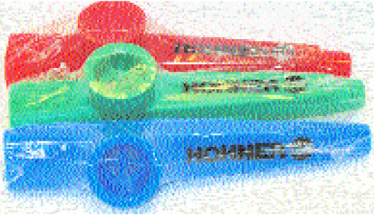 Missing image &lt;kazoo w.jpg&gt; Group: 3520 - KAZOO<br>4.75 inch - Assorted Colors - Plastic