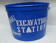 64-oz Pail with Handle    Perfect to sell as is, or to fill with items related to a specific exhibit